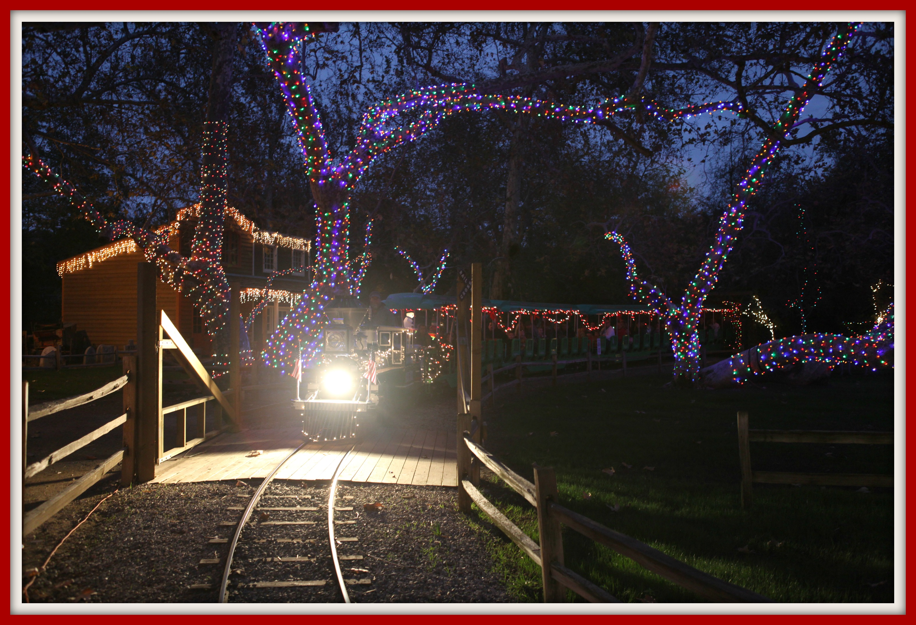 Train With Lights