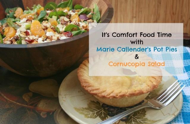 Comfort Food Time with Marie Callender's Pot Pies #EasyAsPotPie #Ad