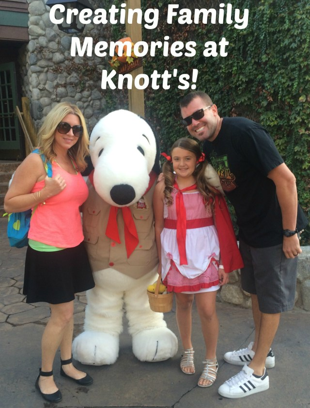 Creating Family Memories at Knott's