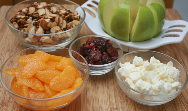 Toppings for the Cornucopia Salad #EasyAsPotPie #Ad