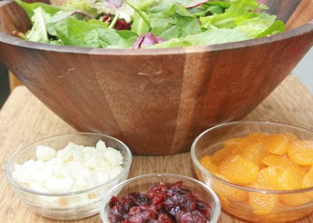 combining the salad #Easyaspotpie #ad