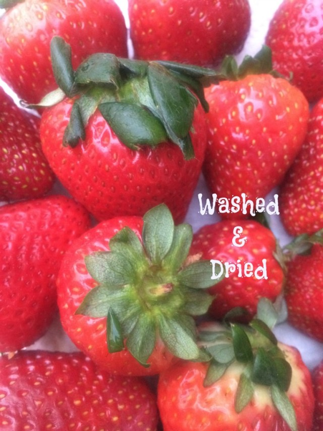 washed-and-dried-strawberries