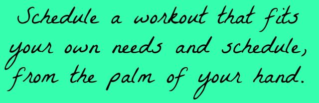 schedule-a-workout