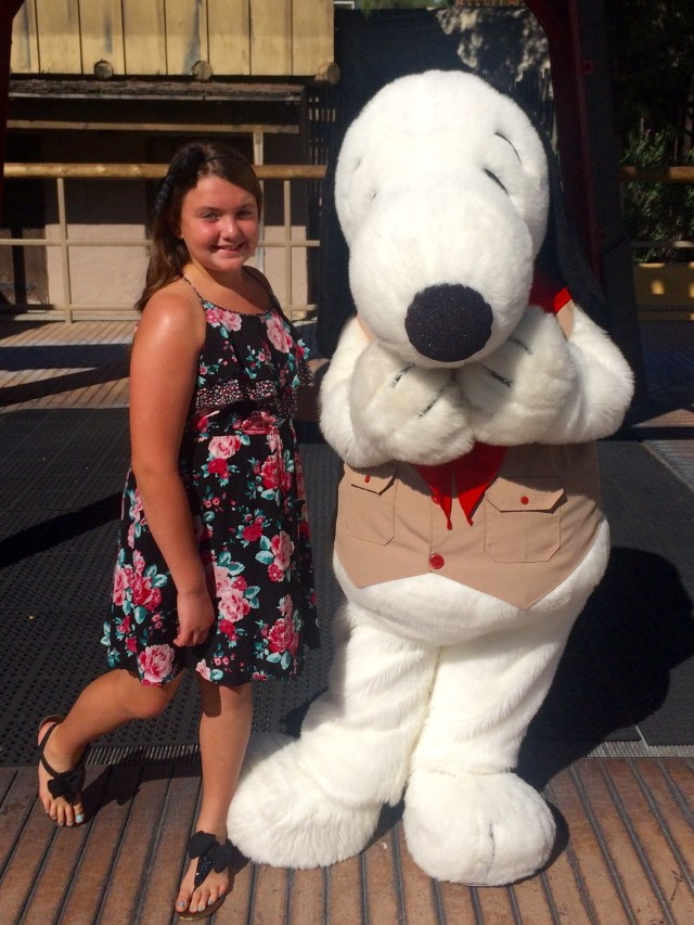with-snoopy