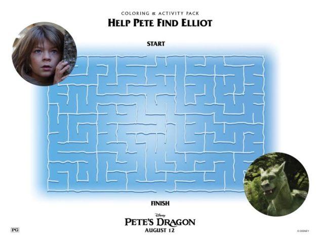 petes-dragon-coloring-maze-photo