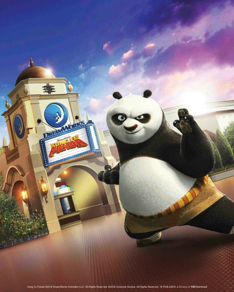 "All-New DreamWorks Theatre Featuring ""Kung Fu Panda: The Emperor's Quest"" Officially Opens at Universal Studios Hollywood on June 15, 2018"