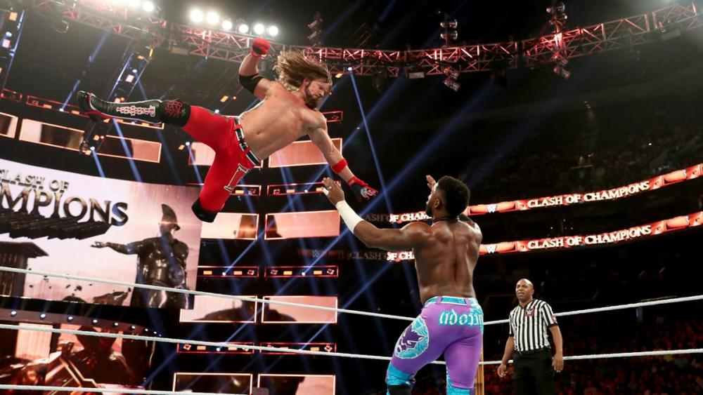 The Phenomenal One takes to the sky Clash of Champions