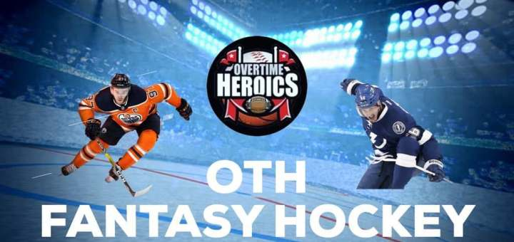 OTH Fantasy Hockey,Sunday Streamers