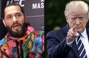 Donald Trump attends UFC 244 amid protests and boos.