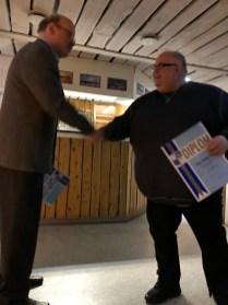 Peter Emanuelsson tilldelas Norrbottens Idrottsförbunds Förtjänstdiplom