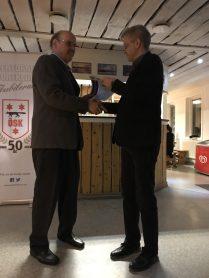 Henrik Luttu tilldelas Norrbottens Idrottsförbunds Förtjänstdiplom