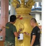 temple renoveren