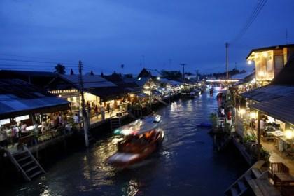 Floating market Ampawa