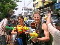 Songkran vieren