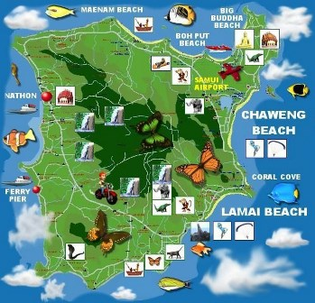 Naar Ko Samui Eiland In Thailand Overwinteren In Thailand