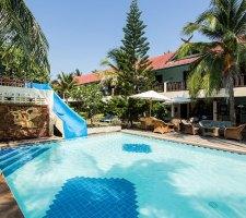 dolphine bay resort sam roi yot zwemmen