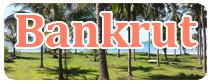 Bankrut vakantie accommodatie