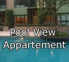 Pool view apartment lumpini cha-am