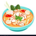Thailand Holiday Food Tom yam gong