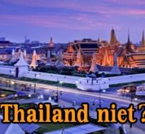 waarom vakantieland thailand