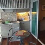 keuken op balkon