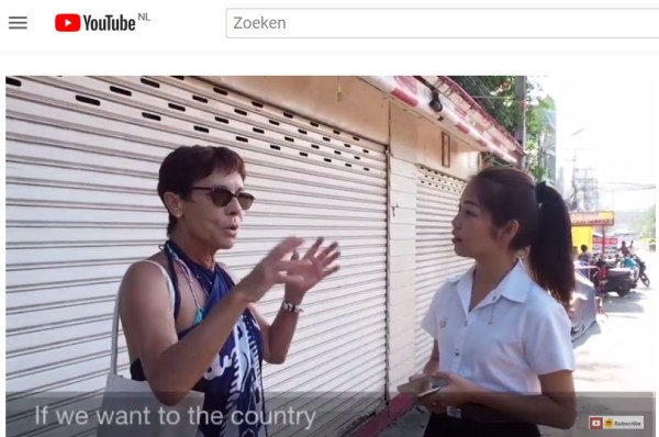 Interview Huahin Video tourist