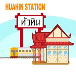 Hua hin Station train