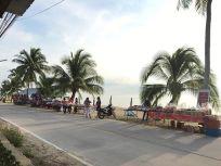 verkoop aan het strand
