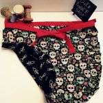 Sugar Skull Skeleton Reversible Apron