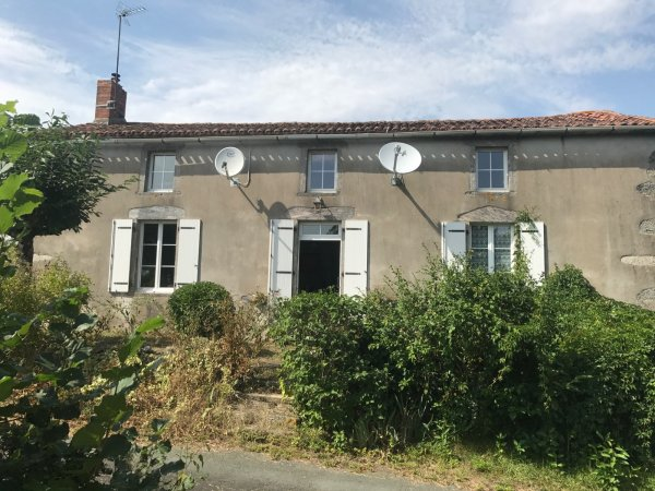 House for Sale in La Foret-Sur-Sevre, Poitou-Charentes, France