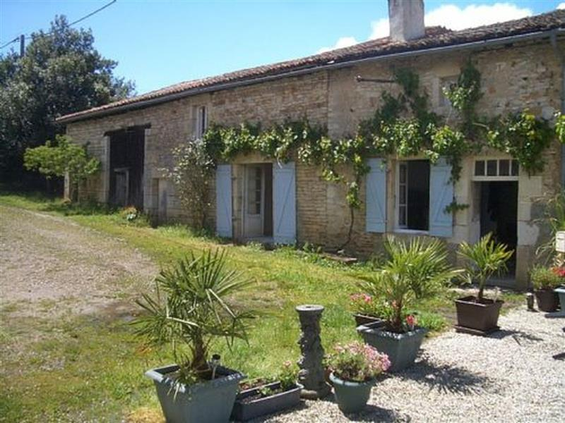 House for Sale in Champagne-Mouton, Charente, France