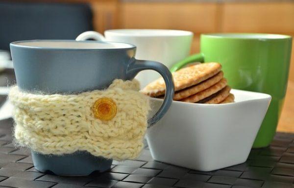 taza crochet