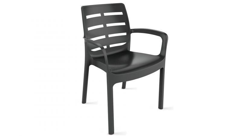 chaise de jardin en plastique bien