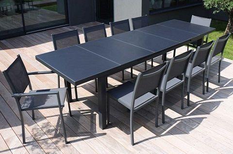 la table de jardin extensible pour de