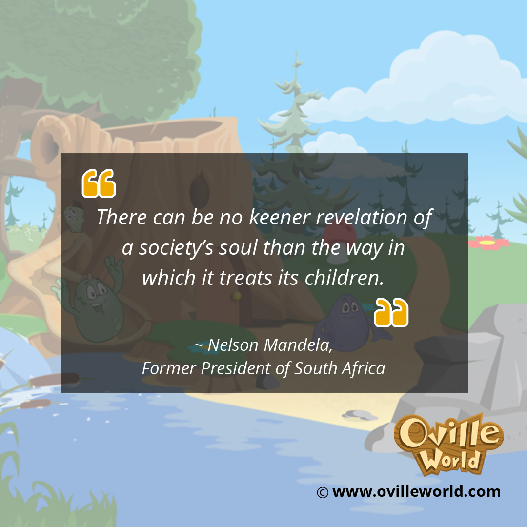 Parenting Quote By Nelson Mandela