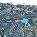 Misteriosa e crescente área quente em Yellowstone está matando a vegetação 1