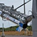 Foguete brasileiro explode na plataforma de lançamento 5