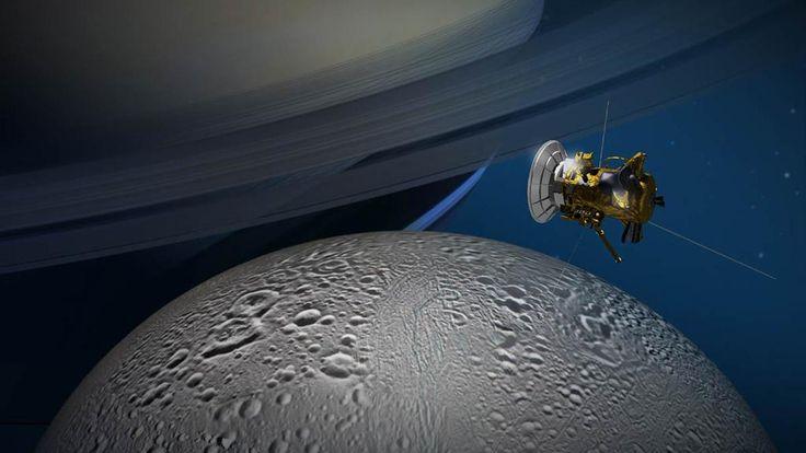 Grande avanço na busca por vida alienígena em lua de Saturno