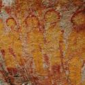 Seriam estas representações de alienígenas pintadas em paredes de caverna na Índia? 3