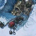 Visita à Antártica confirma a descoberta de  uma civilização que foi congelada instantaneamente 1
