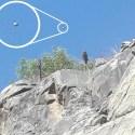 Família fotografa OVNI / UFO em petroglifos da IV Região, no Chile 16