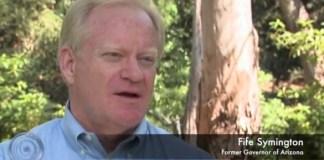 Luzes de Fênix - ex-governador do Arizona