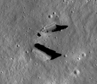 Estudo analisa evidências de escavações e estruturas incomuns na Lua