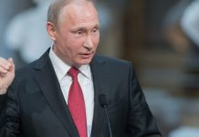 Putin Homens de Preto