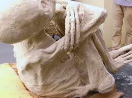 múmia de três dedos