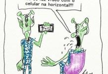 fimar um OVNI com seu celular