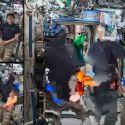 Transmissão de entrevista ao vivo com astronautas acaba de forma muito estranha 21