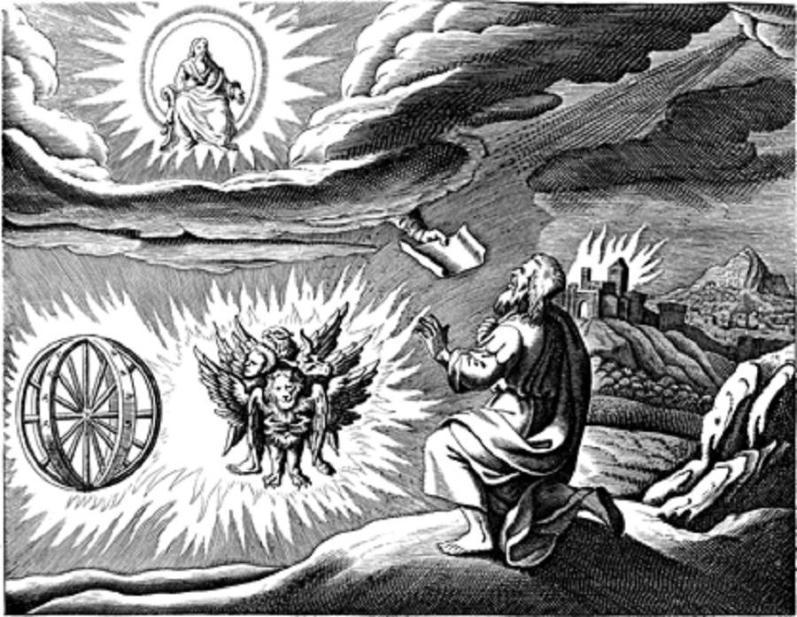 A história judaica dos OVNIs (e porque Ezequiel teve um contato imediato)