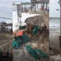 Enormes ondas inesperadamente atingem as costas do Peru e de Cuba 8