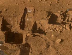 excavação-sonda-Phoenix-Marte 1
